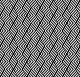 Seamless geometric pattern with striped texture.