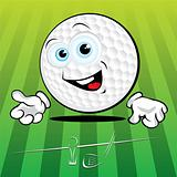 Funny Golf ball