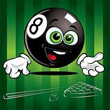 Funny Pool Ball