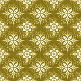 Seamless Grunge wallpaper in an old gold