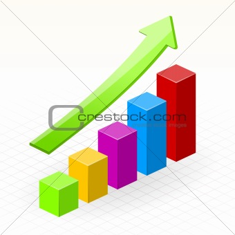Business Growth Success Chart