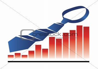 Tie with graph