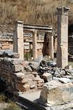 Piece of Ancient Ruins in Ephesus
