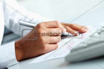 Working at plan