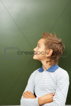 Looking at blackboard