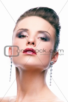 Glamorous model