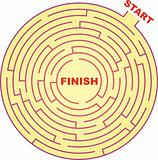 Circle Maze