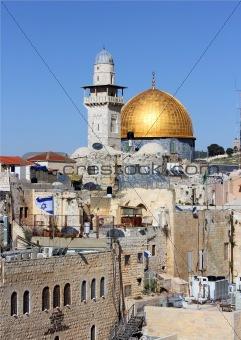 view of the Al Aqsa Mosque