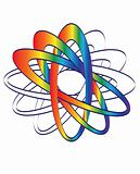 Link logo, vector.