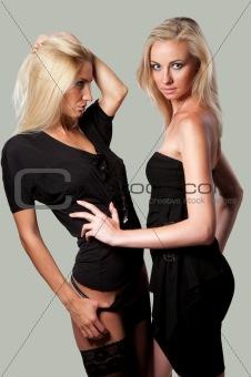 beautiful two woman