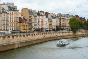 Paris Seine River Boat