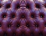 Dark red upholstery leather