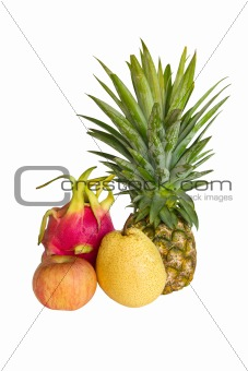 Fresh fruit isolated