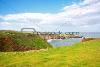 Beautiful Scottish landscape, Aberdeenshire, Scotland