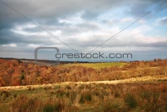 Beautiful Autumnal landscape in Scotland