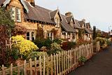 Beautiful, old, traditional Scottish houses