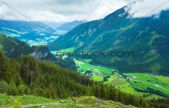 Alps summer village