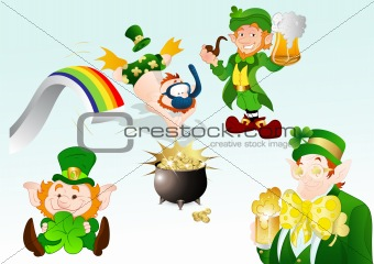 Funny St. Patrick's Day Vectors