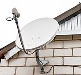 Satellite dish antenna Television