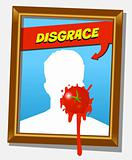 the disgrace frame