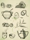 vintage tea