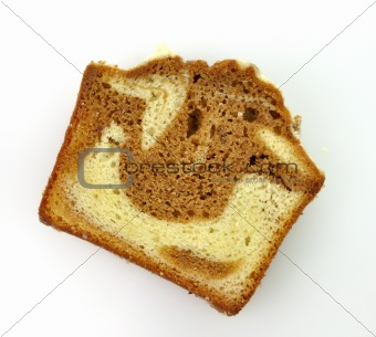 cinnamon swirl loaf sliced cake