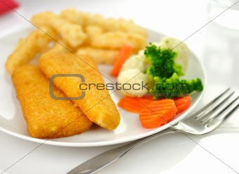 fish fillets dinner
