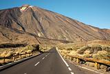 Open Road on Tenerife