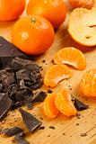 Dark Chocolate and Oranges