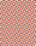 EPS8 Vector Red White and Blue Star Background