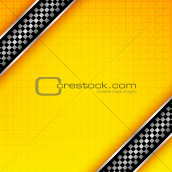 Racing ribbons background template