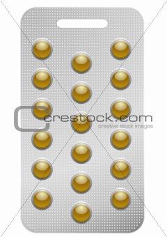 pack of round pills