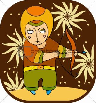 Boy archer