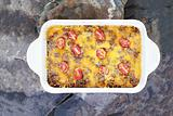 Hash Brown Strata or Breakfast Casserole