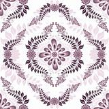 Seamless white-pink pattern