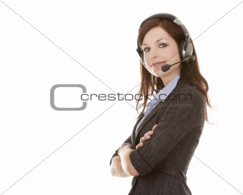 telemarketing person