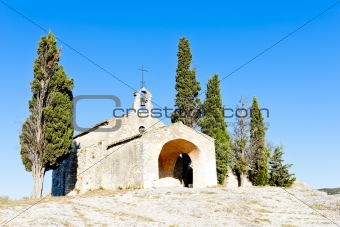 Chapel St. Sixte near Eygalieres, Provence, France