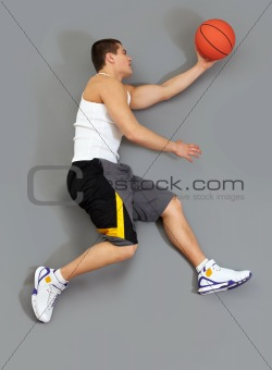Reaching for ball