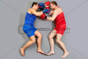 Boxing on the floor