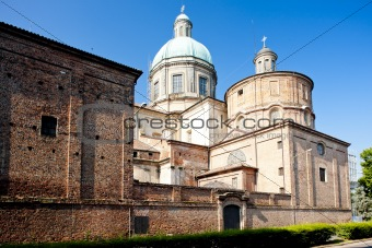 cathedral in Vercelli, Piedmont, Italy