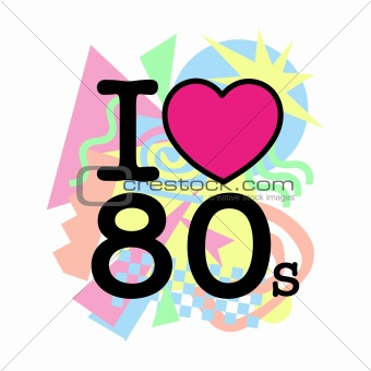 I love 80&#39;s old style