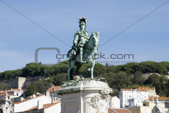 King José Statue, Lisbon