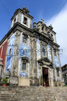 Church with azulejo