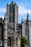 The Saint Nicholas church in Ghent