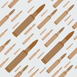 gun bullets seamless background