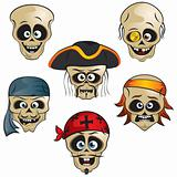 Pirates Skulls