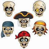 Pirates Skulls