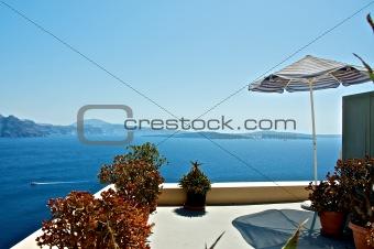 Cosy terrace.