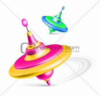 Whirligig - spinning tops