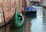 Green gondola